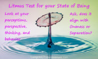Oneness Litmus Test