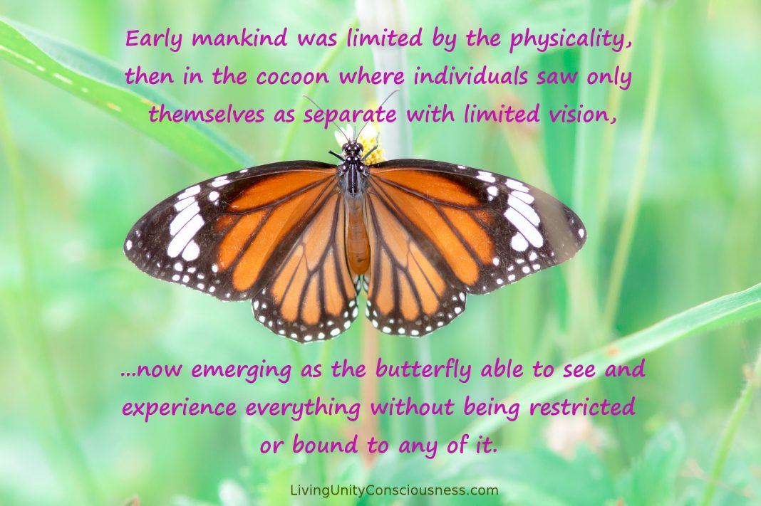Humanity Evolving Like A Butterfly